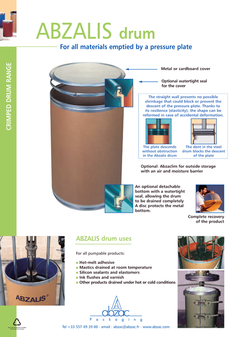 Abzalis Drum description
